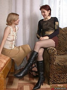 Sweet Sexy Lesbian Babes Rosa and Polina Enjoys Nice Rubbing Activities