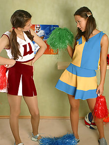 Jemima and Natalie Two Young Lesbian Girls Enjoying the Pantyhose Sex