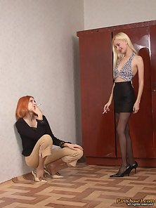 Lovely Elena and Sveta Enjoys Fingering and Rubbing Each Other Twats