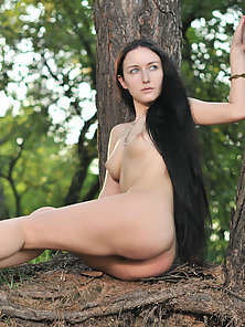 Large Eyes Babe Excitedly Doing Naughty Action to Get Out Of Aloneness