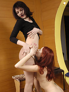 Glamour Girls Sveta and Elena Engaged In Sweet Lesbian Action