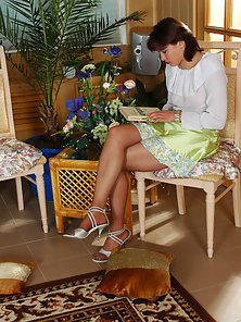 Brunette Horny Chick Mirabel and Deborah in Home Engaged In Licking till Cummed