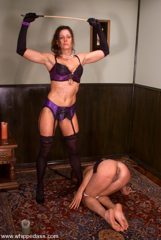 Kym Wilde Dominates Local Girl Shawna Lesser