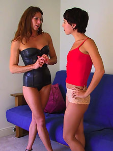 Viva and Kym Enjoying Lesbian Fun in Great Action with Naughty Mood
