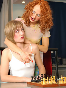Curly Haired Sexy Chick Diana Makes Love Passionately With Florence