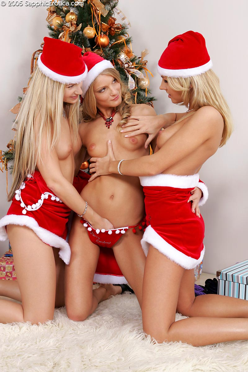 There Charming Babes Cayenne Katerina and Sharon Wearing ...