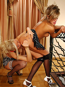 Nora and Susanna Excited To Feel Nice Pleasured For Huge Licking Actions