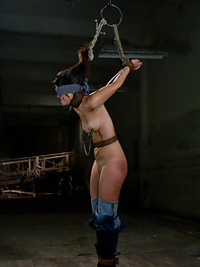 Electric Dildo Fucking By Hot Lesbians in Bondage