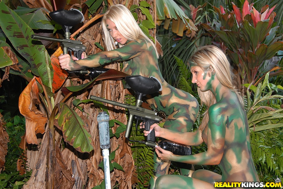 Apologise, paintball nude girls not