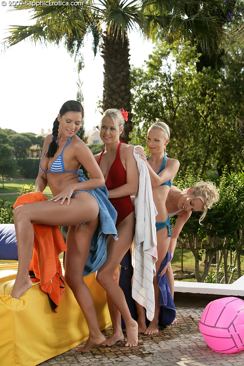 group outdoor pussy - Isabella V Judit Alison and Celine D Having Group Sex in Outdoor with Great  Licking