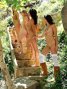 Good Looking Young Babes Huge Licking and Tribbing Action