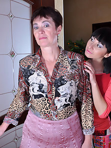 Stunning Babe Meggy and Mireille Takes Deeply Pussy Eating By Each Other
