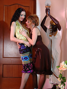 Judith and Alice Fucking With Dildo in Back Pose To Getting Orgasm