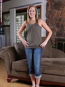 Hot Connie Showing Her Naked Body On Couch