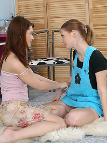 Free porn gallery picture Two just 18 year old teens first lesbian experience