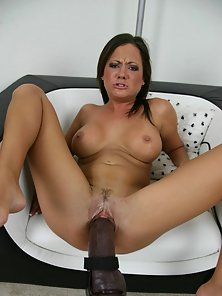 Passionate Babe Sophia Gets Tit Fucked By Huge Dong First Time