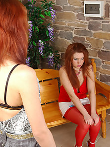 Sweet Naughty Babes Theodora and Jennifer Displays Horny Lesbian Actions