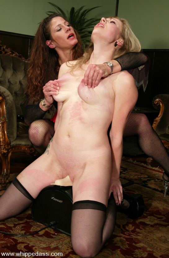 Lesbians with a sybian consider, that