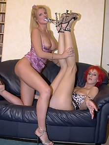 Blondie and punky redhead in thrilling fuckingg