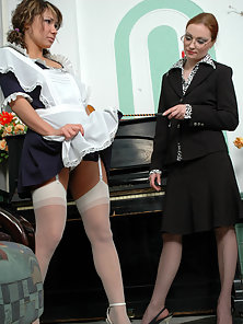 These Two Young Amateur Rita and Gloria Showing Their Lesbian Action in Here