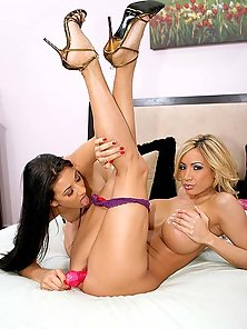 Hot mature lesbians hunting nice tight teen snatch for the ultimate ex